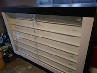 Custom store display case cabinet - with lighting