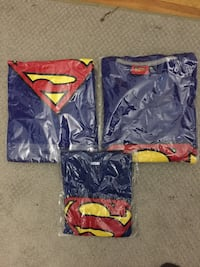 Family superman tshirts XL,Large and size 2(2yrs old) Dorval, H9P 2A7