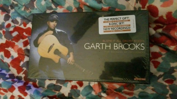 Garth Brooks CD Collectioncard