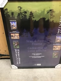 Poster sized frame new in packaging