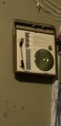 old record player 45. //antiques //