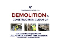 Residential/Commercial Demolition & Construction  Baltimore
