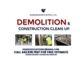 Residential/Commercial Demolition & Construction