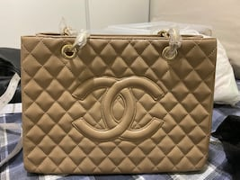 Chanel giant shopper bag
