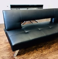 New Black Modern Futon  40 km