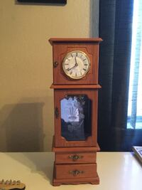 Table top jewelry tower with clock -Turlock Turlock, 95380
