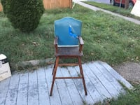 High chair from the 1940s  Gaithersburg