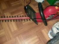 black and red Homelite hedge trimmer Killeen, 76541