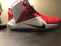 Lebron 12 signed(T-Ross) size 13 used