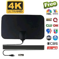 Indoor TV Antenna - FREE TV CHANNELS - Toronto Toronto, M6N 1T2