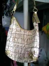 white and brown leather shoulder bag Indio, 92201