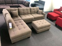 New Sectional Couch with ottoman  Santa Clarita