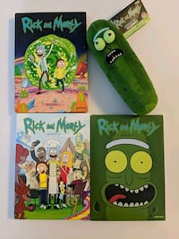 Rick and Morty - Seasons 1-3 & Collectible Plush Pickle Rick!!! Auburn, 01501