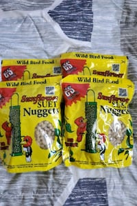 Wild bird food,sunflower suet nuggets