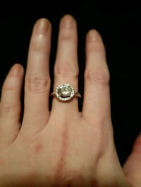 Halo Engagement ring or promise ring Edmonton, T6R
