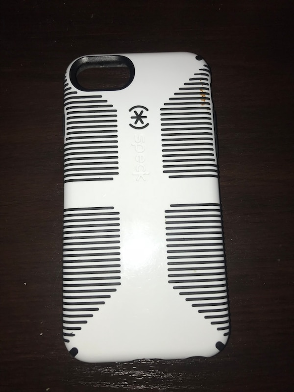 White and black speck candyshell grip iphone case
