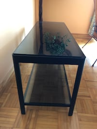 IKEA Glass and Wooden TV Mount! Mint Condition! Pickup Only! TORONTO