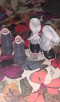 Winter boots size 8/9 toddler