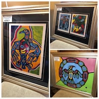 Norval Morrisseau Limited Edition Prints On Choice Brampton, L6T