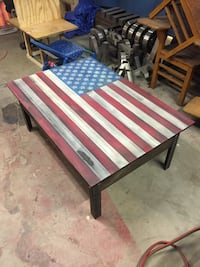Today only* American Flag coffee table San Antonio, 78259