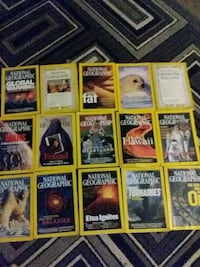 15 NAT GEO collectable magizines Taylor, 48180