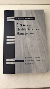 Cases in health services management Mississauga, L5A 3B2