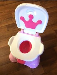 Princess potty & step stool Bakersfield, 93311
