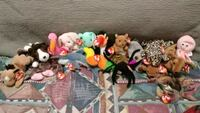assorted TY Beanie Baby plush toys Mentor, 44060