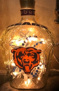 Bears crown royal light up bottle millard