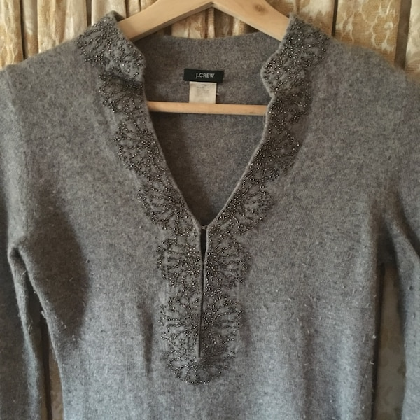 7fc836a7ee4 Used Cashmere Sweater w  Beaded Detail for sale in Maplewood - letgo
