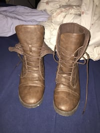 pair of brown leather boots Halifax, B3M 1S7