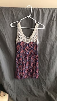 Women's pink and white tank top Frederick, 21704