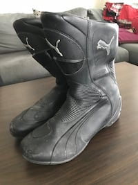 Puma motorcycle boots Vancouver