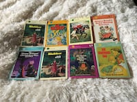 Eight vintage Dell Yearling paperbacks Toronto, M2M 3T9