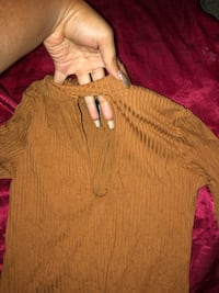Forever 21 brown cut out top Richmond Hill, L4B 3T7