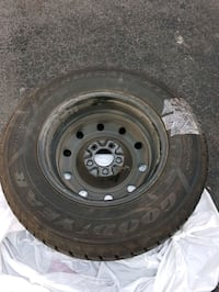 Goodyear Nordic Winter Tires x4 with Rims Mississauga, L5V 2C6