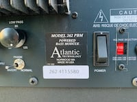 Atlantic 262 POWERED Bass Module. Subwoofer for home theatre. Seattle, 98115