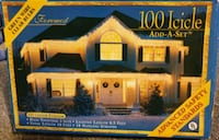 New Christmas lights and clips(2 boxes each) Milpitas, 95035