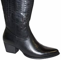 Wanted Texan black boots, size 9 women's  Silver Spring, 20904