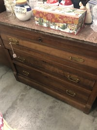 Antique Marble Top with dresser with Mirror Lexington, 40509
