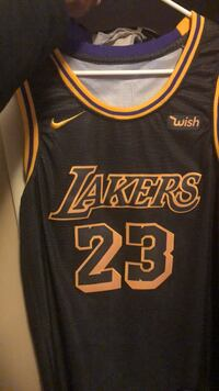"New ""Wish"" Lebron James Lakers jersey North Little Rock, 72116"