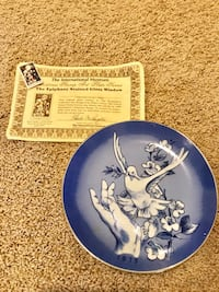 Collectors Plate Vacaville, 95687