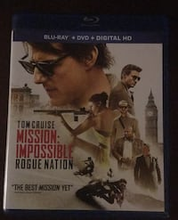 Mission: Impossible  Rogue Nation DVD Salt Lake City, 84106