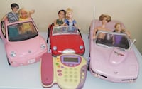 $25 take all... Pink Corvette is remote control..all used Las Vegas