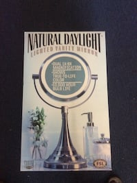 Vanity mirror natural daylight magnification New in box . Fremont, 94555