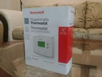 White Honeywell programmable thermostat box Brampton, L6S 6L6