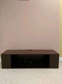 Floating TV Stand Wall Mounted Media Console 2 Tiers Entertainment Av