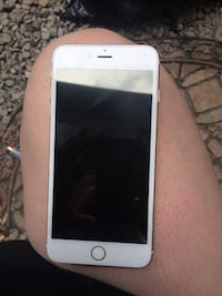 silver iPhone 6 with case Peterborough