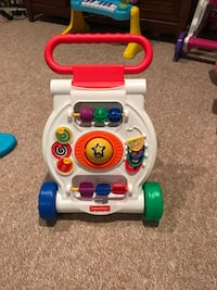 Fisher-Price Bright Beginnings Walker  13 mi