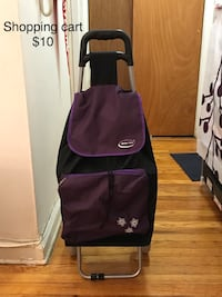 purple and black Adidas backpack New York, 11375